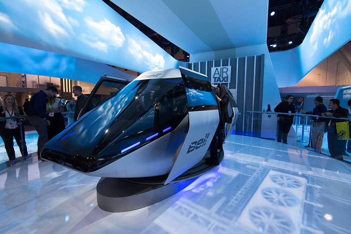 Bell Helicopter at CES