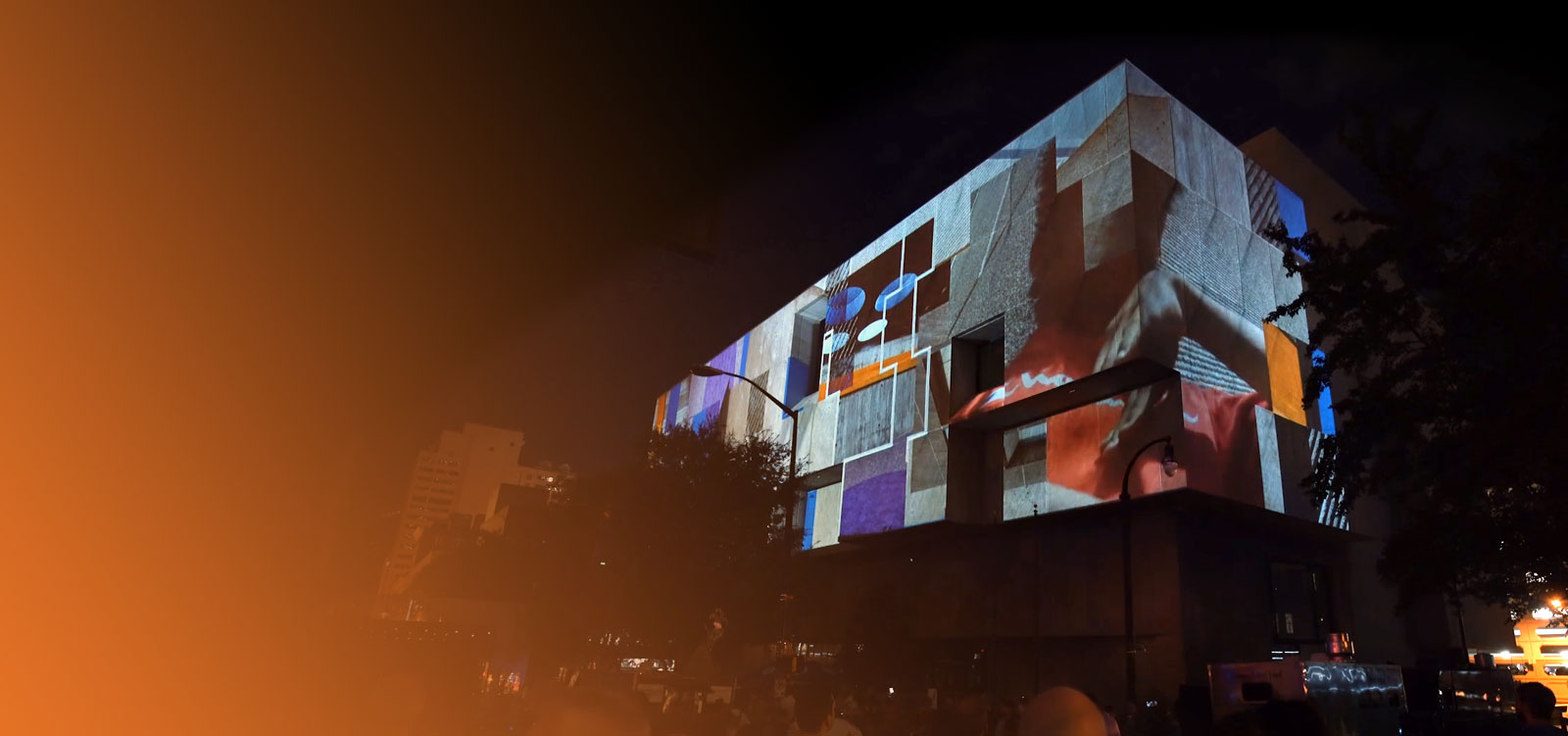 Projection Mapping | Building Transformation Background