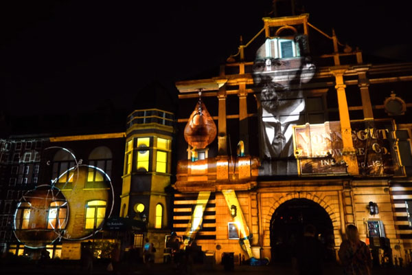 Projection Mapping | Building Transformation