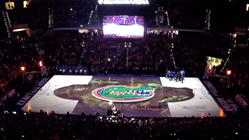 University of Florida Court Projection