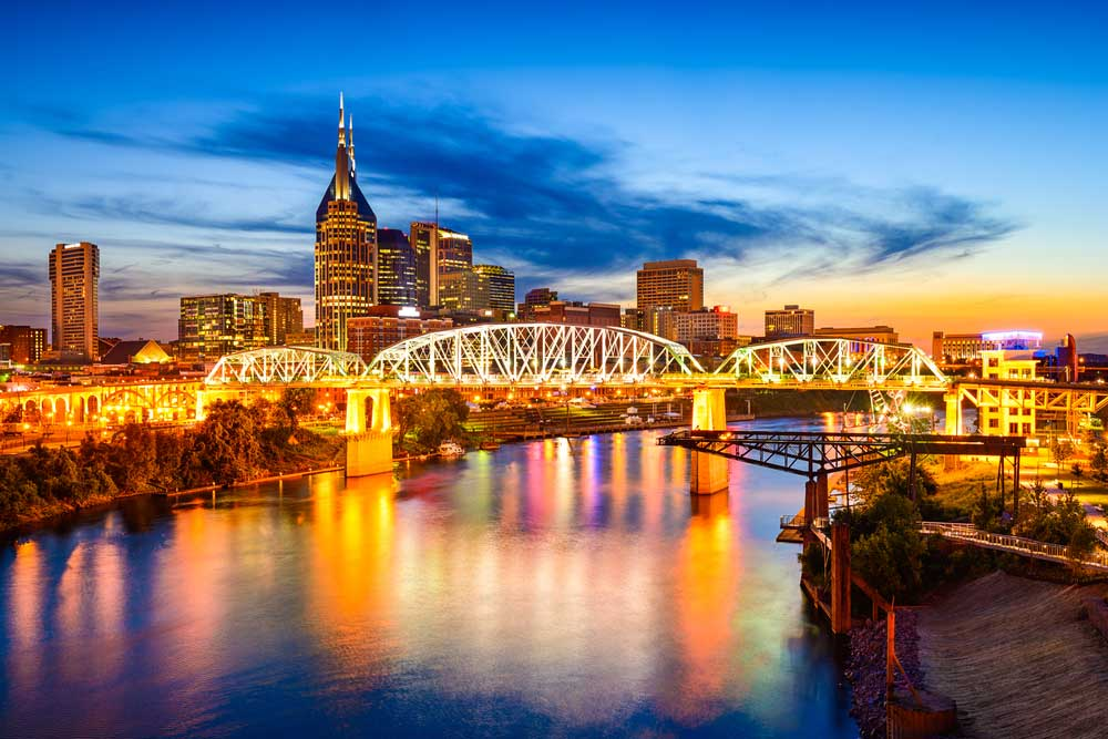 nashville skyline Audio video production